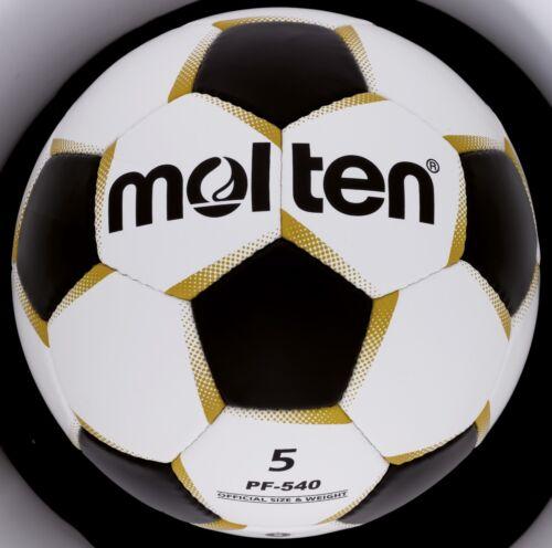 5   3608.1500 Molten Fussball Trainingsball Ball PF-540 weiß//schwarz Gr