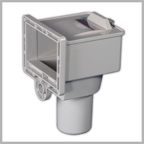 cd626dae045 Thru Wall Pool Skimmers Ground Durable ABS Resin Vacuum Adaptor Rust Proof  for sale online