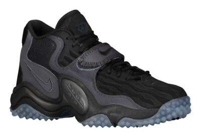 14473091b9bb NEW RARE Nike Air Zoom Turf Jet 97 NFL 621957-020 BLACK Mens Size 10.5