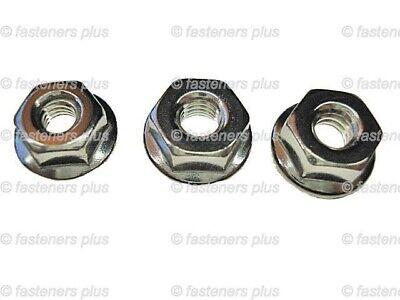 10-24 black serrated flange moulding clip nuts 25 pcs