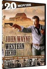 John Wayne: Western Hero - 20 Movies [4 Discs] DVD Region 1