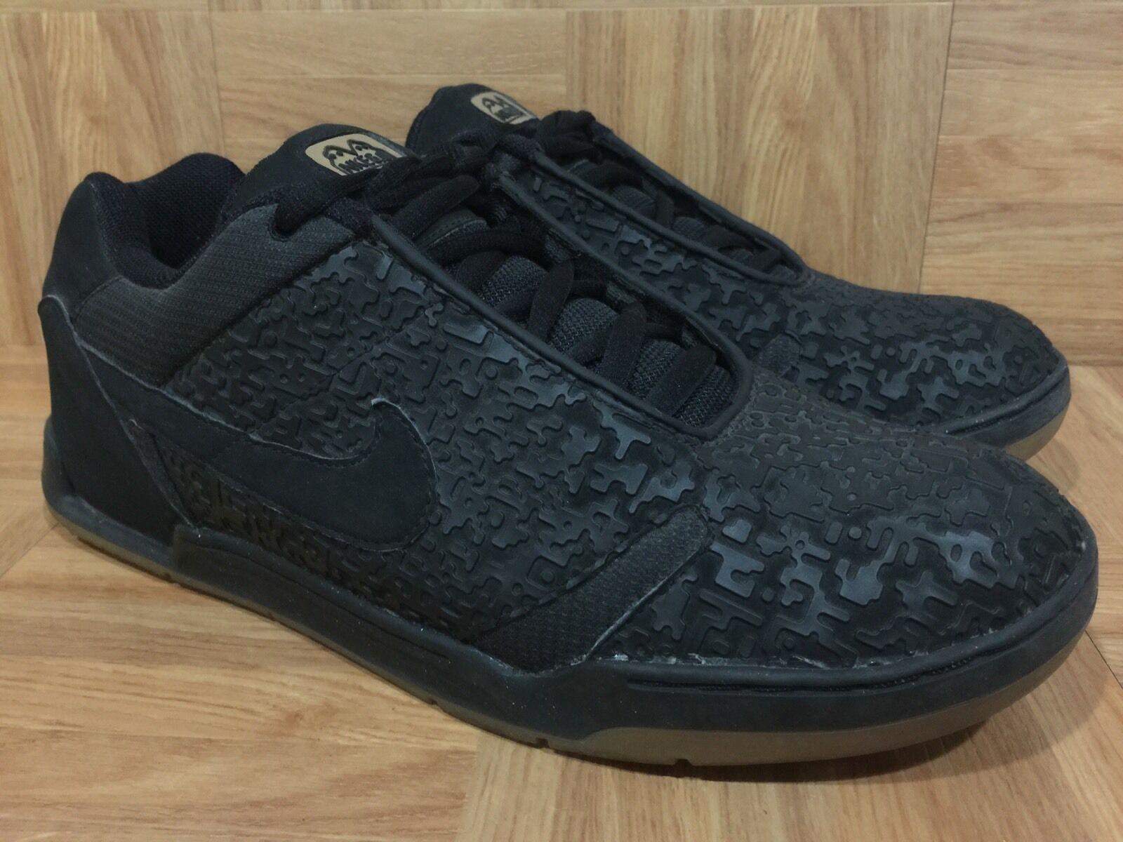 RARE RARE RARE Nike Zoom Air Mobi-One Premium SB Black Laser Light Gum S 10.5 309831-001 a6769f