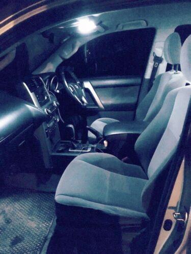 White Interior LED Light Upgrade Kit for Toyota  Landcruiser Prado 150-10 Piece