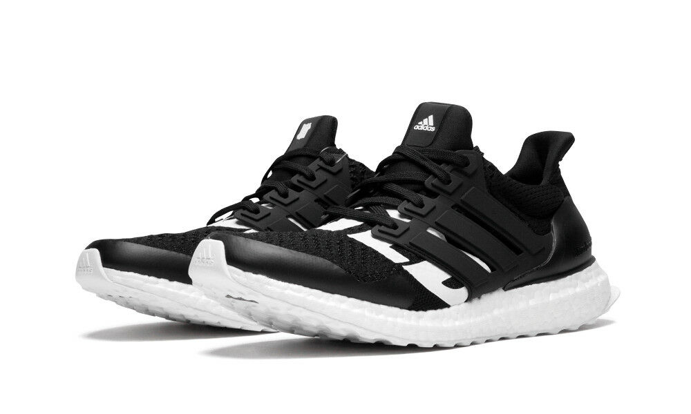 Mens adidas Ultra Boost Undefeated Black B22480 100%AUTHENTIC Running shoes USA