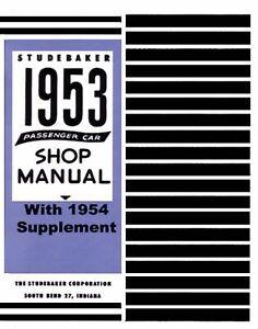 OEM-Repair-Maintenance-Shop-Manual-Bound-for-Studebaker-All-Models-1953-1954