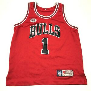 Mitchell-amp-Ness-Derrick-Rose-Chicago-Bulls-Basketball-Jersey-Youth-Size-Large-YL