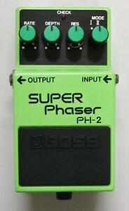 BOSS-PH-2-SUPER-Phaser-Guitar-Effects-Pedal-MIJ-1985-45-with-Box-Free-Shipping
