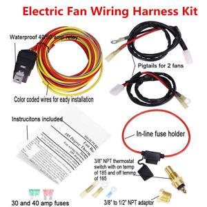 Radiator Fan Wiring Harness - Wiring Diagram K8 on