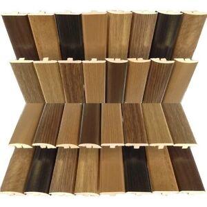 Image is loading Oak-Walnut-Threshold-R&-Trim-Door-Strip-Profile- & Oak Walnut Threshold Ramp Trim Door Strip Profile for laminate ...