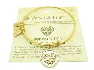 Wind and Fire Sun Charm Wire Bangle Stackable Bracelet Made In USA New Gift Idea