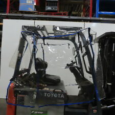 Total Source Full Forklift Cab Enclosure Cover Clear Vinyl Fits Standard Size