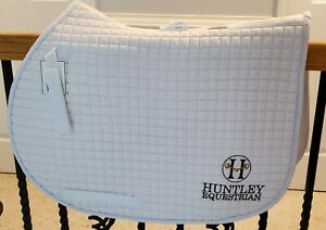 IMPERFECT HUNTER GREEN PRI COTTON QUILTED ALL PURPOSE A//P SADDLE PAD
