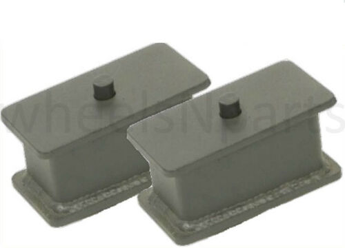 """4/"""" Fabricated Steel Lift Blocks Pair For Rear Axle 1988-99 Chevy Suburban Tahoe"""