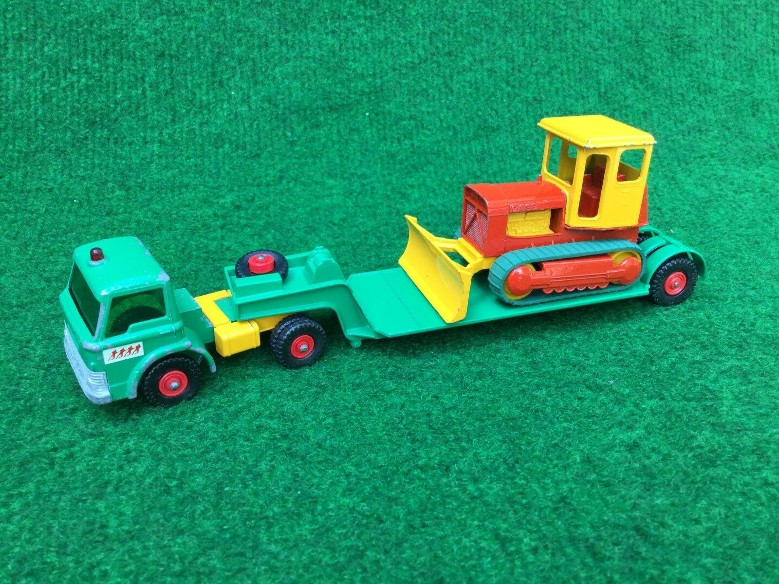 Matchbox Lesney K-17 King Size Low Loader with Bulldozer Bulldozer Bulldozer ovp e218be