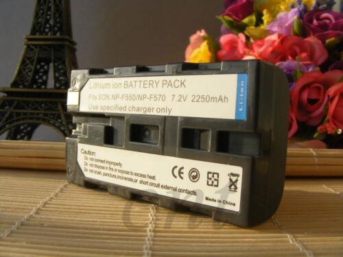 Cargador de batería y rápido para Sony CCD-SC5 CCD-TRV4 DCR-TRV620 MVC-FD97 NP-F550//330