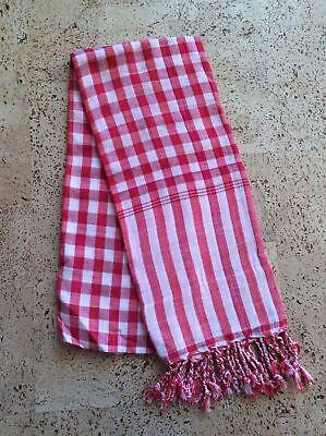 Krama traditionnel Echarpe Khmère 100/% COTON Tissé scarf Cambodge Asie 62