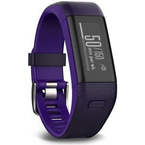 Garmin Vivosmart HR+ Activity Tracker Regular Fit, Imperial Purple