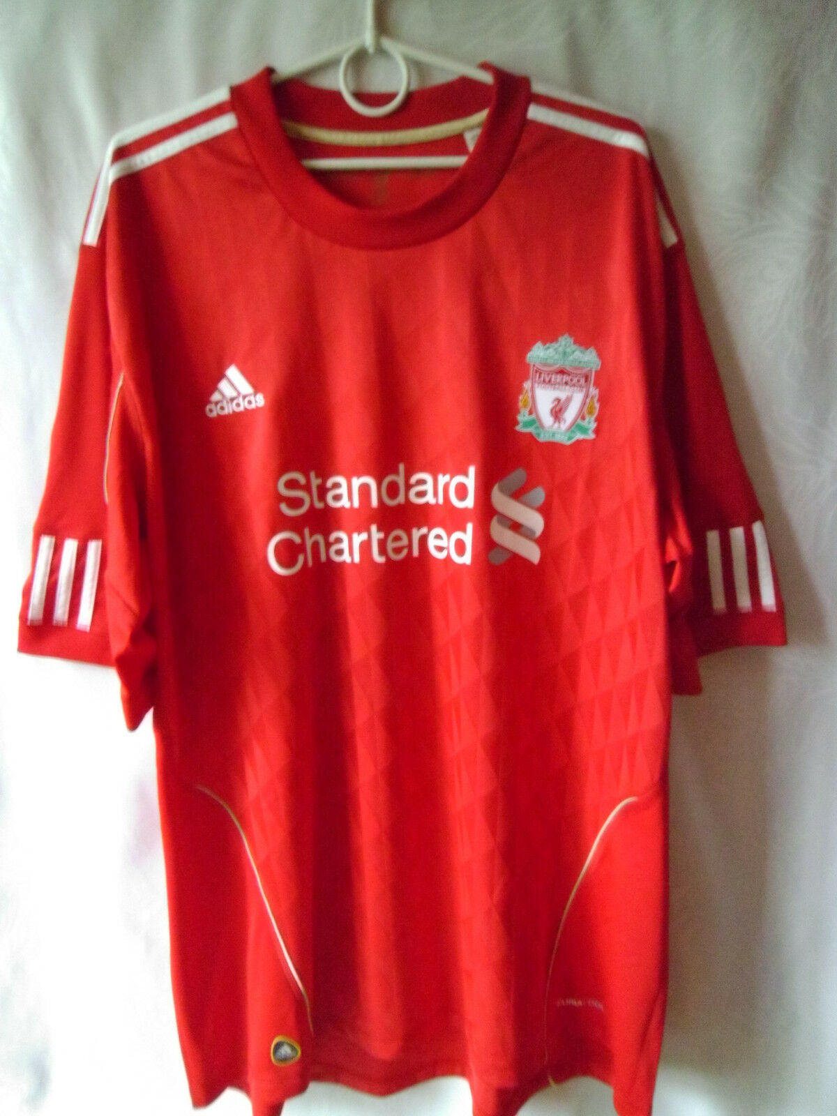 EXCELLENT    2010-12 Liverpool Home Shirt XXL