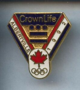 RARE-PINS-PIN-039-S-OLYMPIQUE-OLYMPIC-ALBERTVILLE-92-CROWN-2R