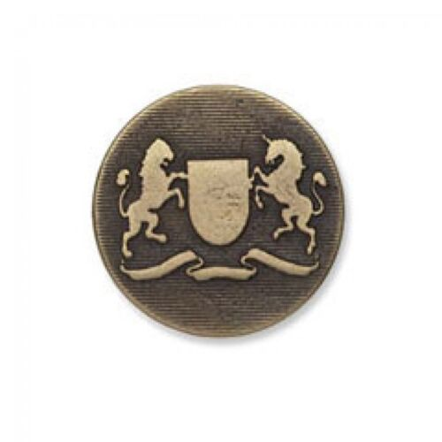 Impex Metal Crest Buttons G4244-M