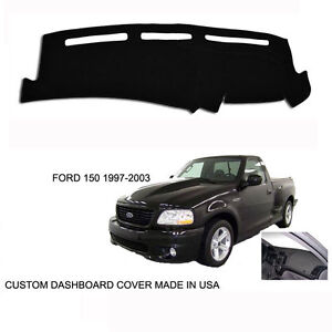 New Ford F150 >> Details About Brand New Ford F150 Pick Up Truck Custom Black Dashboard Dash Cover 97 03
