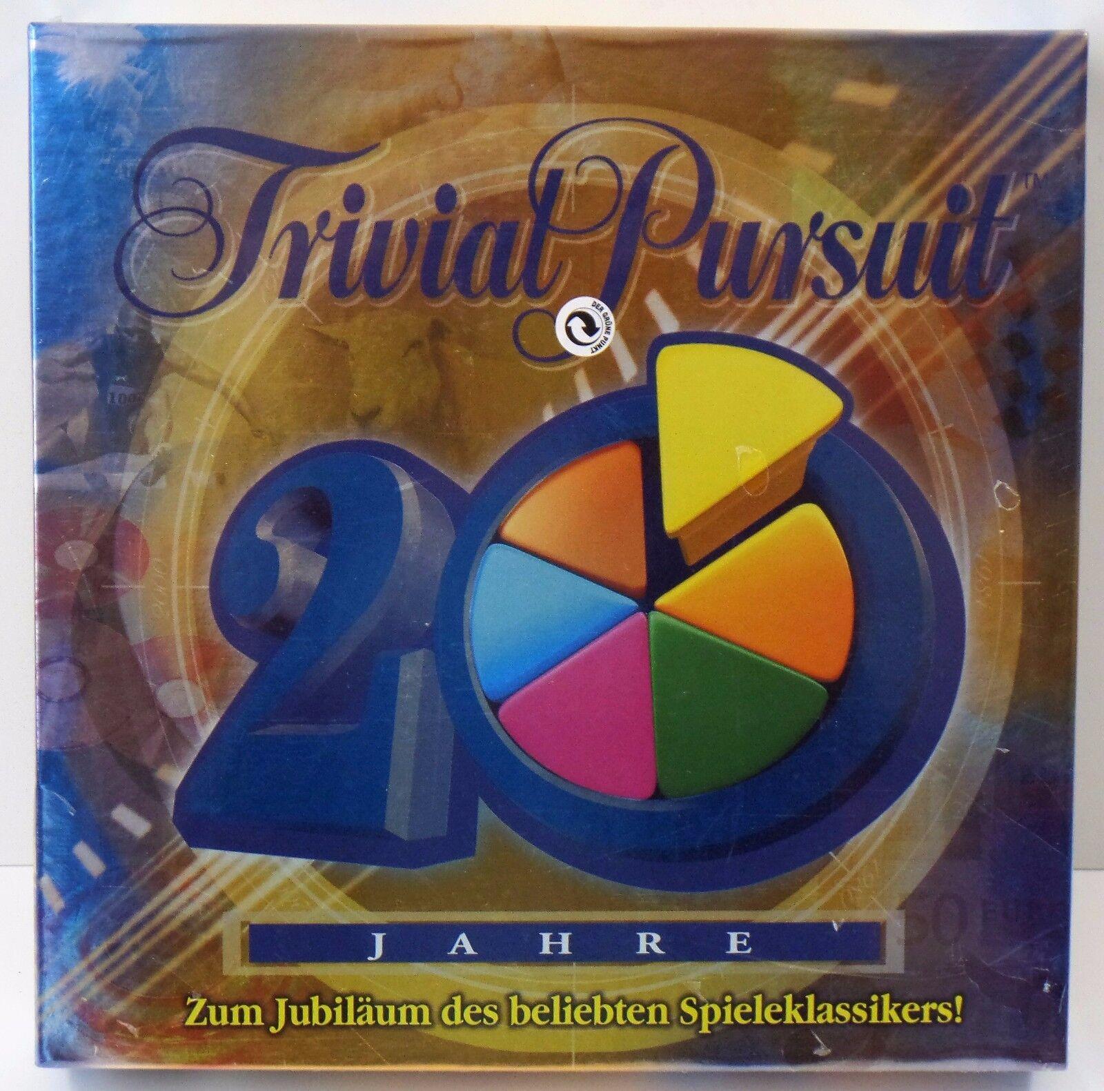 Parker Trivial Pursuit 20 anni Giubileo-NUOVO NEW