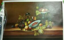oil painting on canvas still life Fruit picture