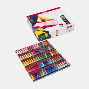 Amsterdam-Acrylfarben-Set-90-x-20-ml-Vollsortiment-Royal-Talens