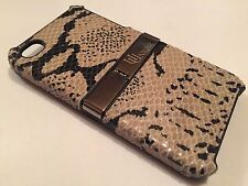 Apple Iphone 4 4S cover case protective hard back Snakeskin snake skin stand