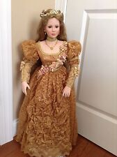 Master Piece Gallery Porcelain Doll Guinevere By Thelma Resch #253 of 1500 - Box
