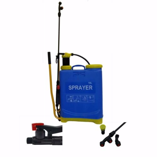 Pressure Sprayer 2 5 8 16 20 Litre Manual Bottle Knapsack Weed Killer Garden LTR