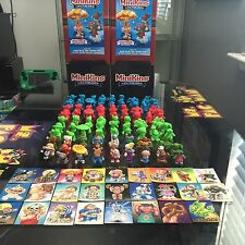 "Garbage Pail Kids 1"" MiniKins Series 1 COMPLETE PAINTED SET (26) + STICKERS"