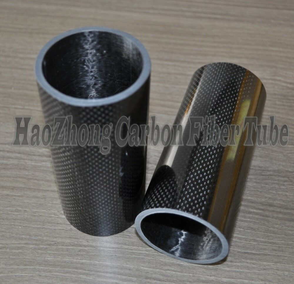 1-4x 5mm*8mm*1000mm Roll Wrapped Carbon Fiber Tube 3K Best Wholesale Glossy Tube