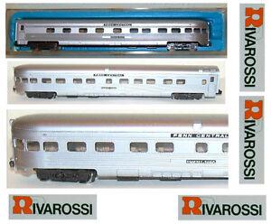 Rivarossi 2669, autocar d'observation de la rivière Genesee Penn, au centre, avec échelle Ovp légère, n