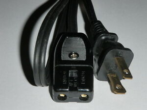 """Power Cord for Montgomery Ward 2 Hamburger Cooker Grill Model 86-46011 2pin 36/"""""""