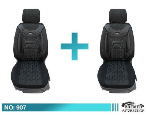 Seat Leon Schonbezüge Sitzbezug Sitzbezüge Fahrer /& Beifahrer 907