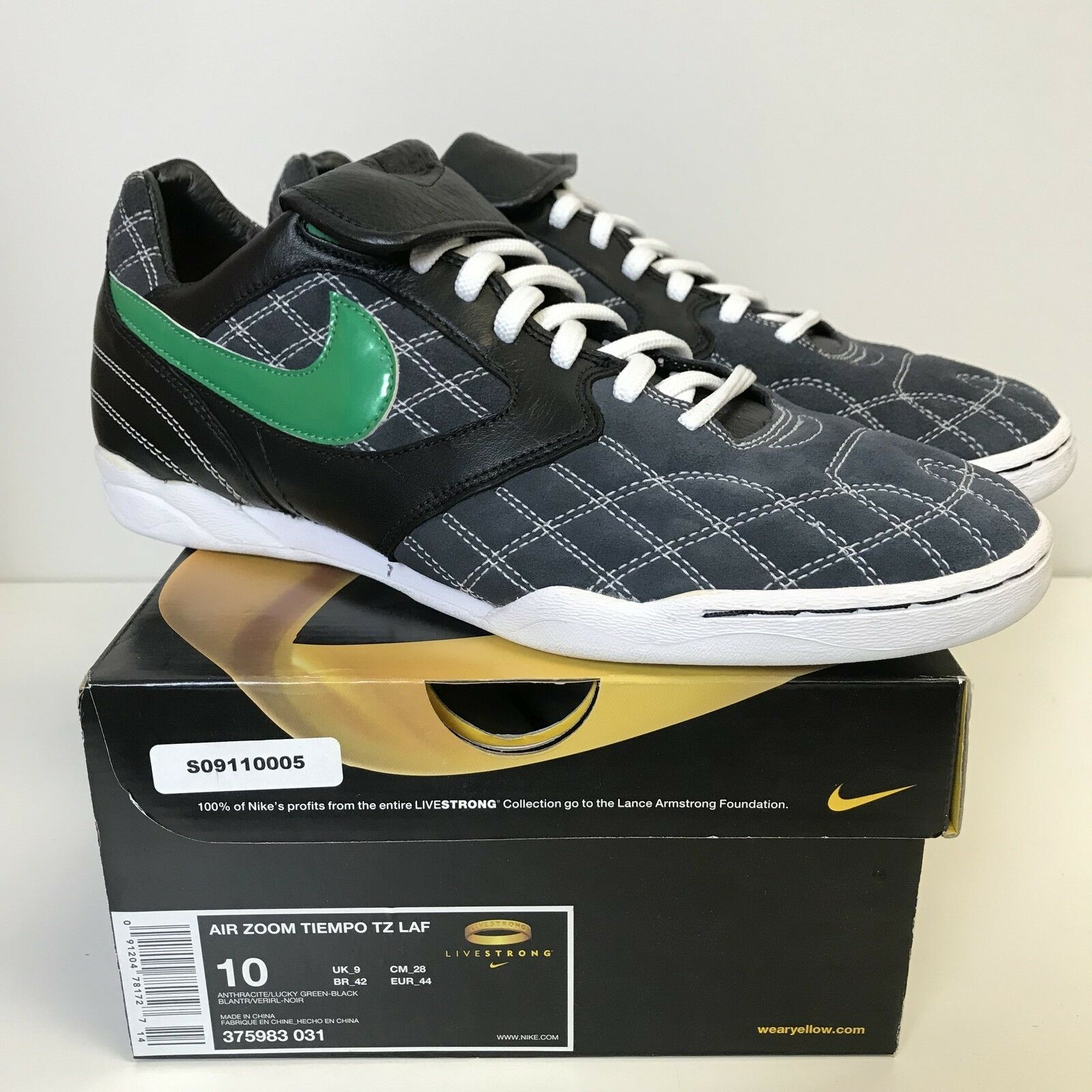 Nike air zoom tiempo tz cappa a flusso flusso flusso laminare lance armstrong limited livestrong 375983-031 10 | Aspetto piacevole  459701