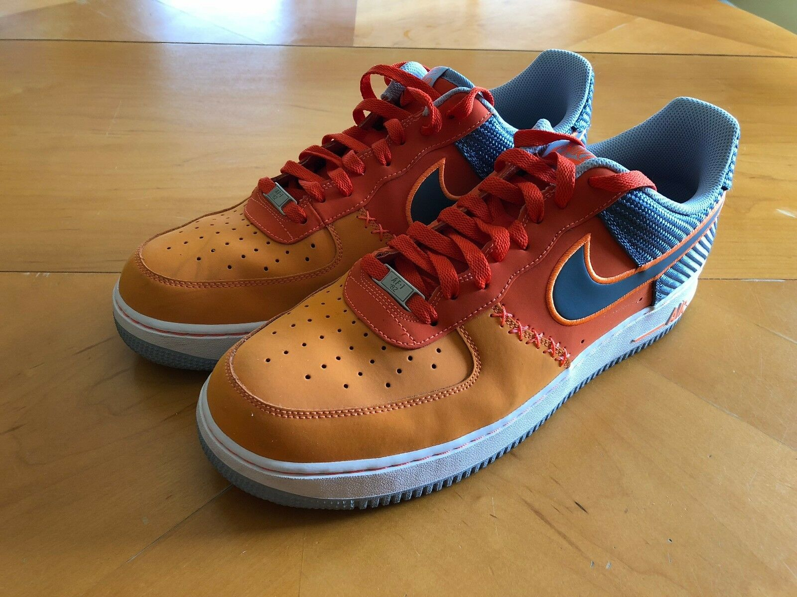 Nike Air Force 1 Low 488298 800 Orange Gary Mens Basketball Shoes US 13 New shoes for men and women, limited time discount