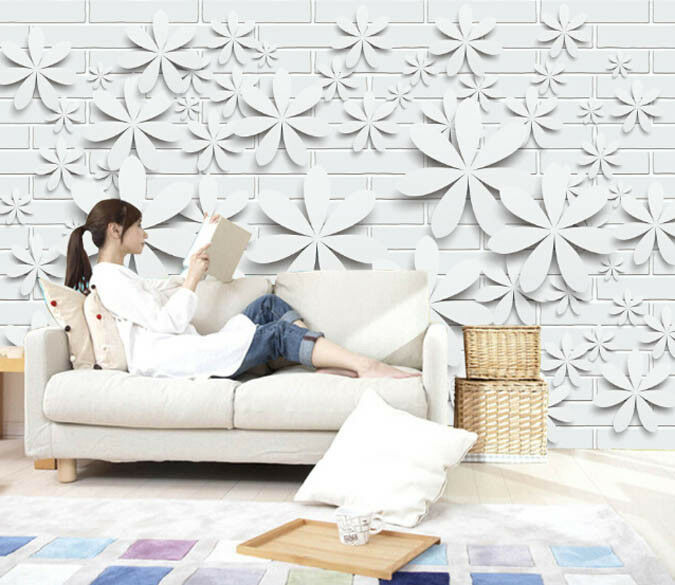 3D Art Simple Flowers 698 Wall Paper Wall Print Decal Deco Indoor Wall Mural CA