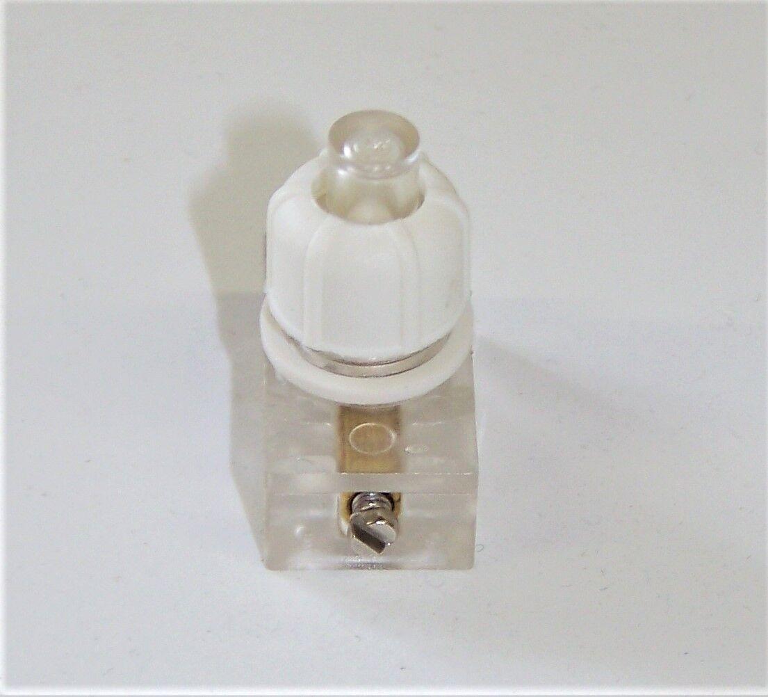 REV Düwi Art 09020555//09020 Einbau Druckschalter Weiß//Weiß 250V~ 2A OVP Nr