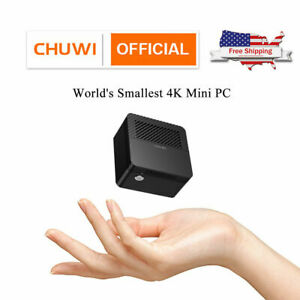 CHUWI LarkBox Mini PC 4K Tiniest Windows 10 Desktop Intel J4115 Computer 6+128GB