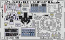 Eduard PE 73519 1/72 McDonnell F-15C Eagle MSIP II details Academy