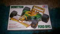Tamiya 1/20 F1 Benetton Ford B192 M.Schumacher Great Condition Very Rare