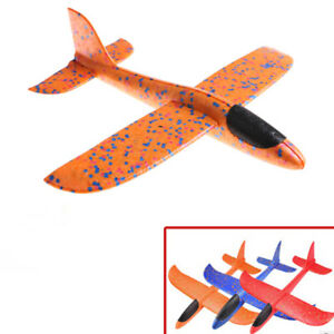 EPP-Foam-Hand-Throw-Airplane-Outdoor-Launch-Glider-Plane-Kids-Gifts-Toy-A9HWC
