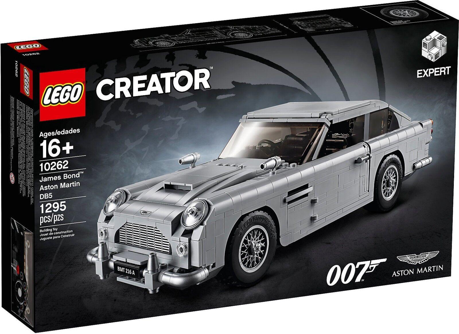 LEGO 10262 James Bond™ Aston Martin Martin Martin DB5 Expert 16 Pz 1295 8835f2
