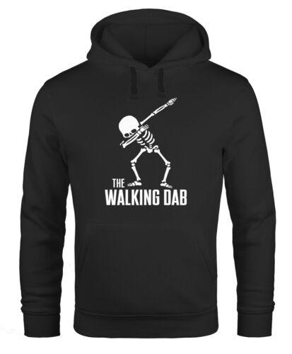 Hoodie Uomo The Walking DAB Scheletro Con Cappuccio-Pullover moonworks ®