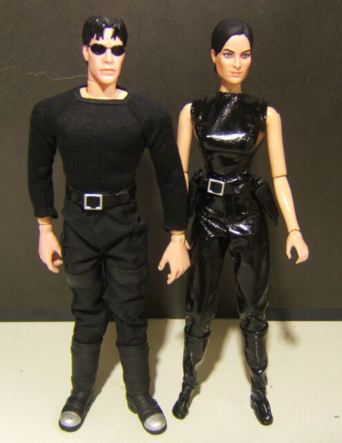 1/6 scale Matrix Neo and Trinity Custom Action Figures produced by N2 Toys 2000