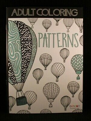 Patterns Adult Coloring Book Single Sided Tear And Share Pages 16 Designs For Sale Online Ebay