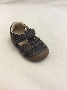 3 Brown Surprize by Stride Rite Baby Boys Ace Fisherman Sandals Size