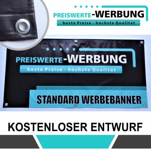 ink top Qualität PVC Werbebanner 300cm x 100cm Druck und Entwurf